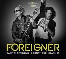 Foreigner - Collectors Package - Cant Slow Down/Acoustique/Classics - 3 CDs -NEU