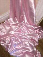 "1 MTR BABY PINK SATIN LINING FABRIC...45"" WIDE"