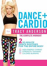 THE TRACY ANDERSON METHOD DANCE + CARDIO DVD NEW SEALED DANCING EXERCISE WORKOUT