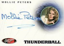 Quotable James Bond Molly Peters as Patricia Fearing A33 Auto Card