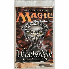 MTG: WEATHERLIGHT Sealed Booster Pack - Magic the Gathering Cards - Mirage Block