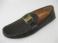 J'S Awake Mens Shoes NEW $45 Boston Brown Driver Loafer 9.5 M