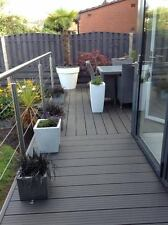 Composite Decking Clarity Charcoal 18 Square Metre Pack (incl. fixings)