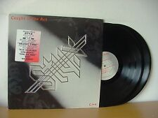 """STYX """"Caught In The Act"""" Original PROMO Double LP 1984 (A&M SP-6504) Audiophile"""