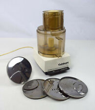 CUISINART FOOD PROCESSOR DLC-7 4 Attachments Complete Tested Working  14 Cup