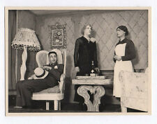 PHOTO Latapie vers 1940 Théâtre OFLAG Camp de prisonniers Acteur Travestissement