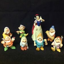 Walt Disney PRINCESS SNOW WHITE & The 7th DWARFS Classics Collection Figurine
