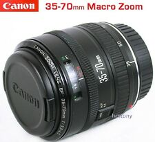CANON EOS EF 35-70mm MACRO AF Zoom Lens~Rebel~Digital & Film+UV Filter MINT Cond