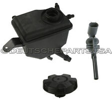 WATER COOLANT RESERVOIR EXPANSION TANK LEVEL SENSOR CAP SET for BMW E60 E61 E63
