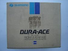 SHIMANO DURA ACE HB-7120 HUBSET LARGE FLANGE - 36 H - NOS - NIB