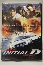 Intial D edison chen ntsc import dvd English subtitle