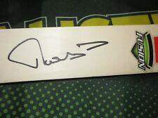 "Matthew Hayden (Australia) signed Gray Nicolls ""Fusion"" Mini Cricket Bat (Pink)"