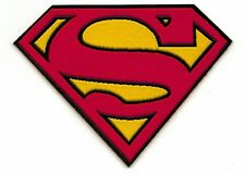Superman Logo Cloth Patch - Sew-on / Iron-on Patch