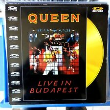 QUEEN CD VIDEO LIVE IN BUDAPEST 1987 PAL VG++/VG++