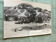 m10b ephemera ww1 picture desert dug out gaza 1917