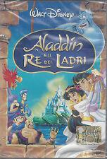 Dvd Disney **ALADDIN E IL RE DEI LADRI** nuovo sigillato 2004