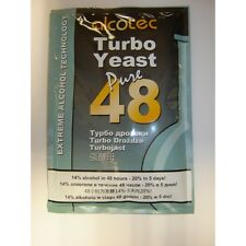 Alcotec 48 Turbo Yeast, brew great wine, cider and juice. Just add sugar + water