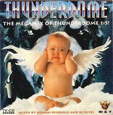 THUNDERDOME = THE MEGAMIXES 1-5 = Rob/TnT/Neophyte/Gee/Mental..= HARDCORE GABBER