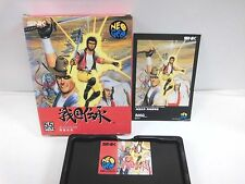 NEOGEO AES -- Sengoku Densho -- JP JAPAN SNK. Clean & Work fully!12497