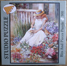 """Bits and Pieces """"Flower Girl"""" 500 Piece Jigsaw Puzzle Factory Sealed"""