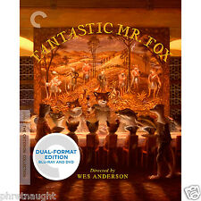 FANTASTIC MR. FOX CRITERION COLLECTION BLU-RAY / DVD - WES ANDERSON