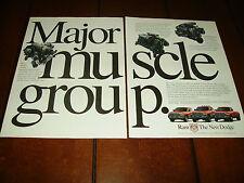 1998 DODGE CUMMINS DIESEL V-10 V-8 TRUCK   ***ORIGINAL 2 PAGE AD***