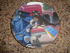 1994 Puppy Patrol - Police Officer - Hamilton Plate - Shepherd - Day's Work