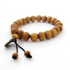 10mm Wood Beads Tibet Buddhist Prayer Bracelet Mala