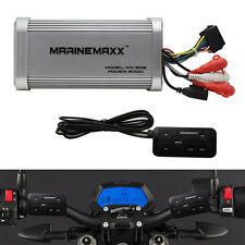 MARINEMAXX 4-CHANNEL BLUETOOTH BOAT MARINE MOTORCYCLE TINY AMPLIFIER UTV AUX RCA