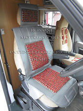Fiat ducato camping-car 2011 housse de siège rossini gris massage beaded cushion MH501
