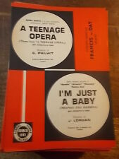 """SPARTITO """"A TEENAGE OPERA"""" + """"I'M JUST A BABY"""""""