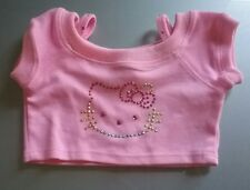 build a bear hellow kitty pink top