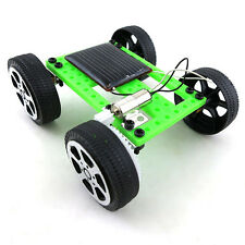 Electric Solar Toy Car Mini Assemble DIY Educational Robot Kits Assembly Car