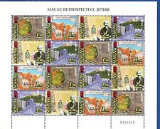MACAO-CHINA-(PORTUGAL)1999-RECTOSPECTIVE -M/SHEET- 16 stamps-(4x4)