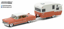 1:64 GreenLight *HITCH & TOW 9* 1955 Cadillac Fleetwood w/SHASTA AIRFLYTE CAMPER
