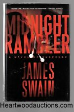 Midnight Rambler by James Swain SIGNED FIRST