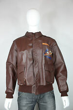 McCoy A2 jacket 42 horsehide leather flight flying tigers ww2 EUC toys pilots
