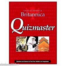 NEW Authentic Encyclopaedia Britannica Quiz master Hardcover International Edit