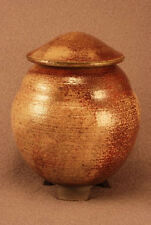 RAKU Unique Ceramic Pet Funeral Cremation Urn #P0015