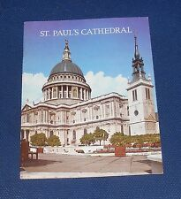 GUIDEBOOK - ST PAULS CATHEDRAL LONDON 26 PAGES 1975 PITKINS PICTORIAL LIMITED
