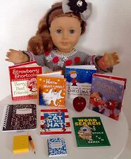 "Mini Books School Supplies for American Girl Doll 18"" Accessories SET"