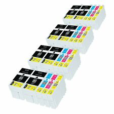 20 Ink Cartridges For Epson Workforce WF-3620DWF WF-3640DTWF WF-7110DTW WF-7610