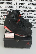 2014 Air Jordan 6 VI Retro Black Infrared 384664 023 Sz 12