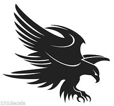 Large EAGLE decal sticker.Car,4x4,ute,boat,caravan graphic.Long term gloss vinyl