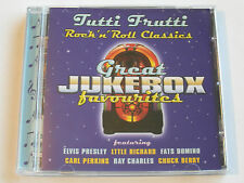 Great Jukebox Favourites - Tutti Frutti ( CD Album ) Used very good