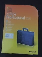 Microsoft Office Professional 2010 Full Retail Version Windows (for 3 Pcs)