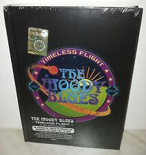 BOX 4 CD MOODY BLUES - TIMELESS FLIGHT - SEALED - SIGILLATO