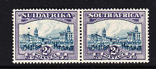 SOUTH AFRICA 1930-44 2d WITH 'AIRSHIP' FLAW SG 44ea MINT.
