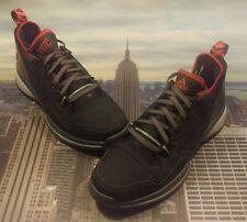 Adidas D Damian Lillard 1 Black/Onyx-Scarlet Size 11.5 S85492 New Dame Rip
