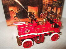 Mib new matchbox YFE-23, 1906 waterous automoteur pumper fire engine diecast